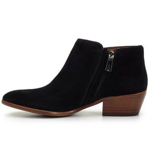 Sam Edelman Suede Petty Chelsea Ankle Booties 11M